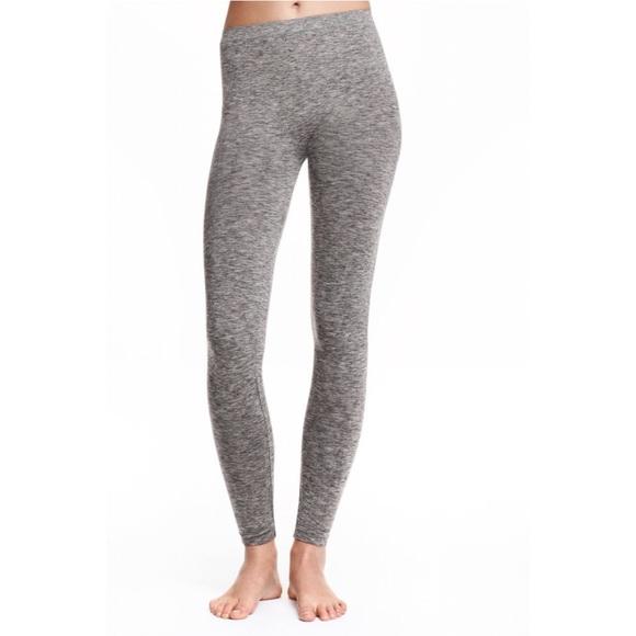 48920f4f54bc7 H&M Pants | Hm Heather Gray Leggings | Poshmark